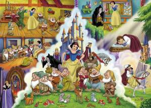 Puzzle 60 Snow White Story