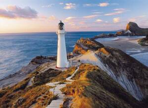Puzzle 1000 New Zeland Lighthouse