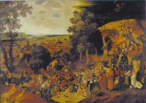 Puzzle 1500 Bruegel, The Golgota