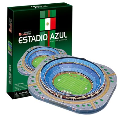 Puzzle 3D Estadio Azul (Mexico)