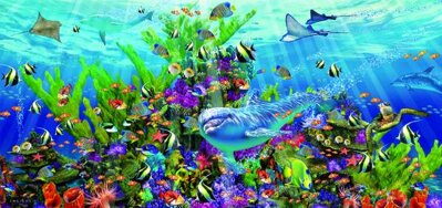 Puzzle 3000 Dolphin Reef